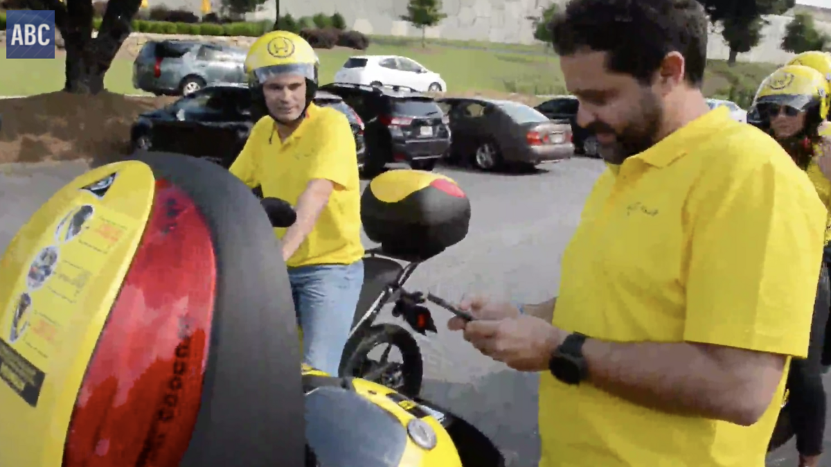 Muving Launches Moped Scooter Sharing Atlanta Video