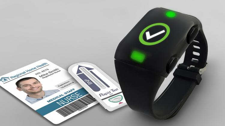 """Life365 is working on its """"careable""""/wearable LifeConnect Band that will debut at the Consumer Electronics Show in Las Vegas in January."""