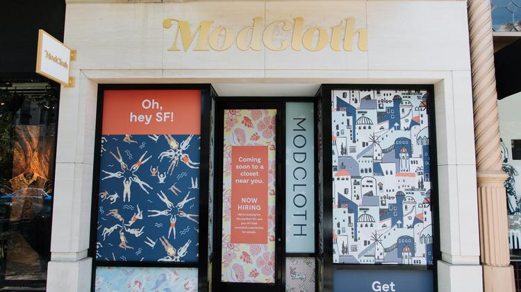 San Francisco Based Modcloth Opened Its First Location In The Bay Area After Operating As