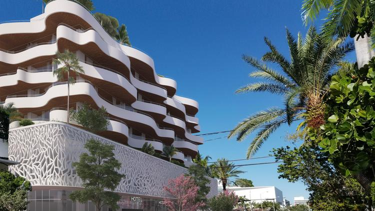 Finvarb Group Has Proposed A Hotel At 1685 Washington Ave Miami Beach