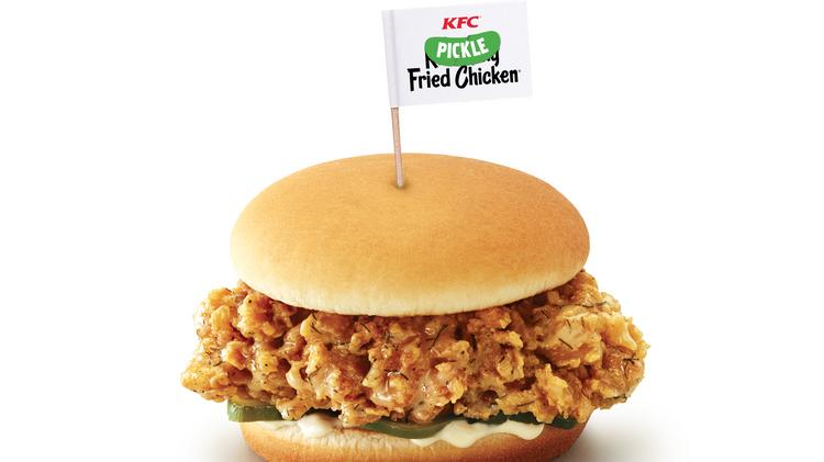 i tried it kfc launches new fried chicken flavor and it might