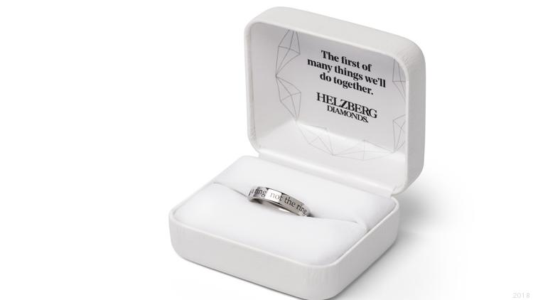 Helzberg Diamonds rolls out Will You? Ring, high-tech