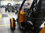 Arcimoto Assembly line with details blocked