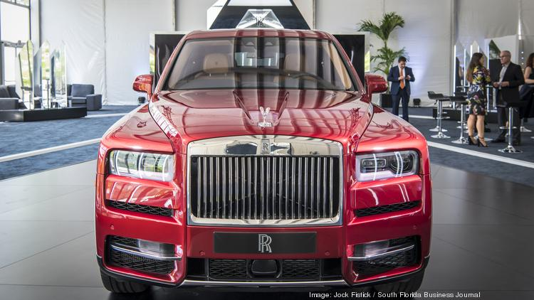Rolls Royce Cullinan Suv Makes Its Us Debut In Miami South Florida
