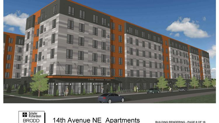 The 14th Avenue Flats Plans To Offer 175 Affordable Apartments In Northeast  Minneapolisu0027 Arts District