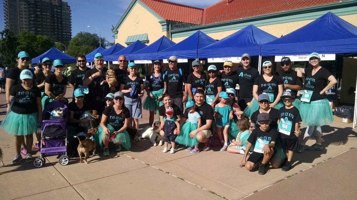 Good Works Altura Periodontics And Applewood Plumbing Supports Cancer Awareness Denver Business Journal