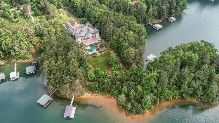 $3.46M Bid Appears To Win Lake Lanier, Ga., Estate Worth $23M In Global Luxury  Home Auction (Photos)