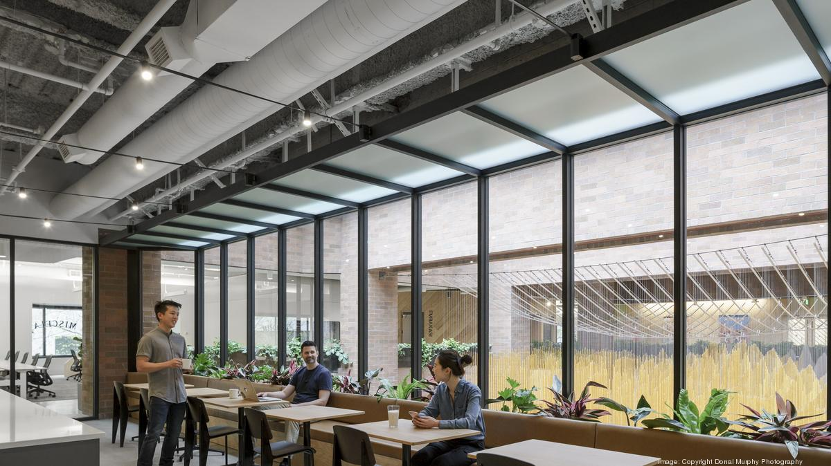 Tour Airbnb S New Seattle Office Photos Puget Sound Business Journal