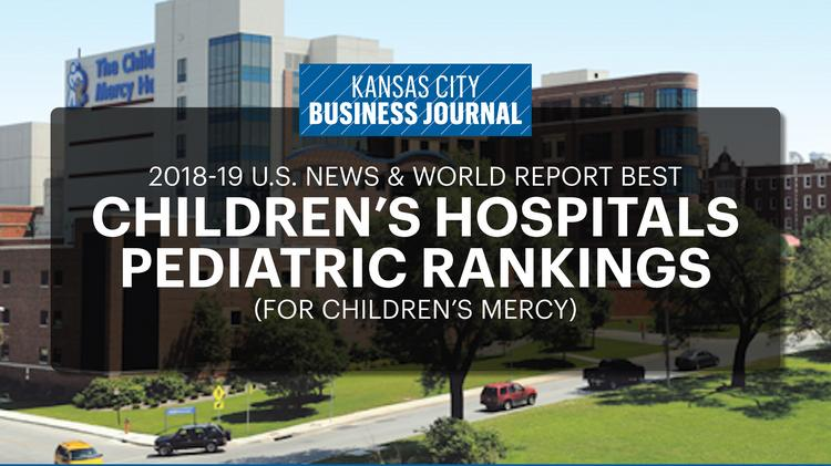 US News World Report Released Its Rankings Of The Nations Best Childrens Hospitals In 2018