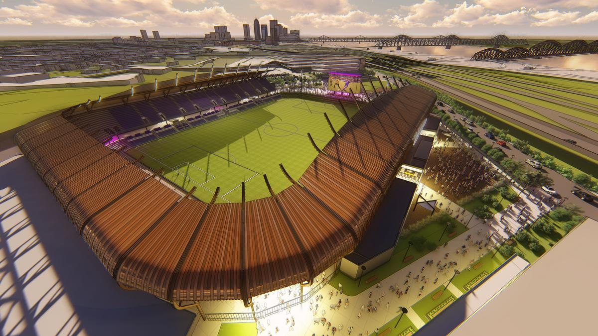 Louisville City Fc Ups Number Of Seats Cost For Soccer Stadium Renderings