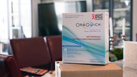 Aunt Rita's Foundation offers HIV test kit - Phoenix
