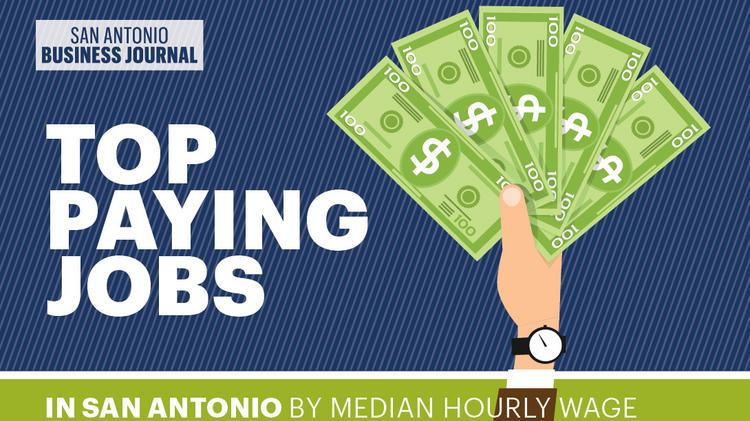 What are the highest-paying jobs in San Antonio? Here's the