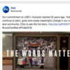 """A Procter & Gamble Co. commercial timed to LGBT Pride Month in June was pulled by Facebook after the social media company determined the spot lacked a """"Paid for by"""" label now required by the site for political advertising. It likely won't be the only P..."""