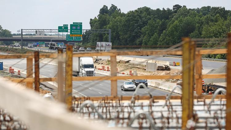 Toll rates for I-77 expansion in Charlotte revealed - Charlotte