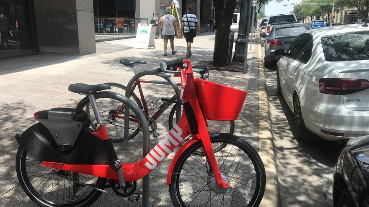 Austin gets more dockless bikes: Uber puts Jump on the