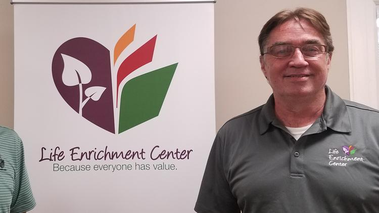 Jeffrey Sorrell, founder and executive director of Life Enrichment Center.