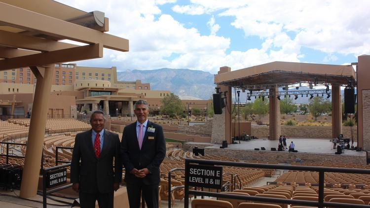 Sandia Resort Casino Amphitheater Remodel Albuquerque Business First