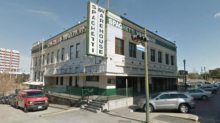Spaghetti Warehouse building renovations proposed to city of