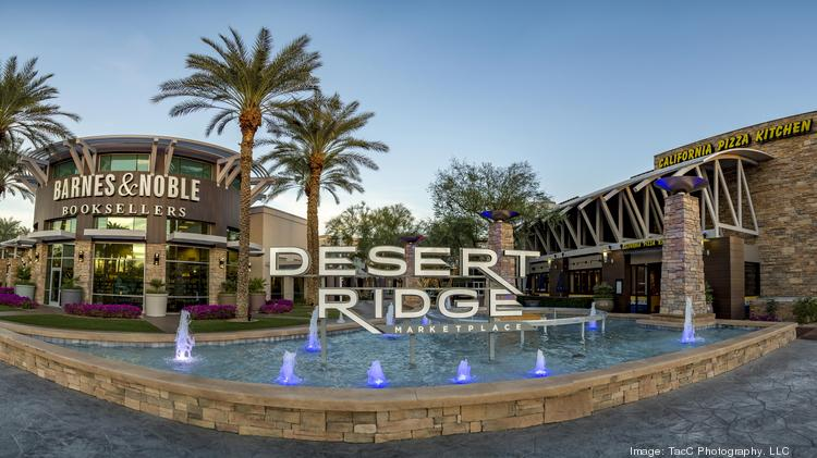 The main entrance of the Desert Ridge Marketplace.