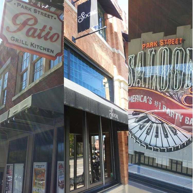 Attractive Park Street Patio, Social And Park Street Saloon Have Been Bought By The  Owners Of