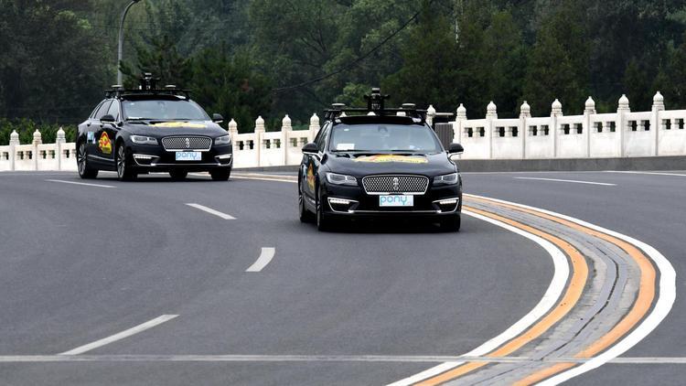 Fremont self-driving car startup Pony ai scores $102 million