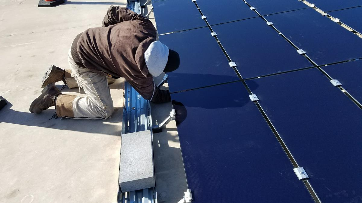 Foley Equipment Installs Largest Commerical Business Solar