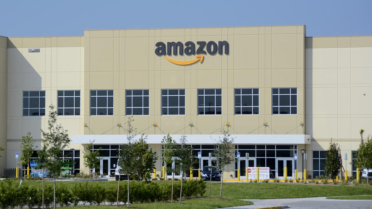 Curious To See What An Amazon Fulfillment Center Might Look Like