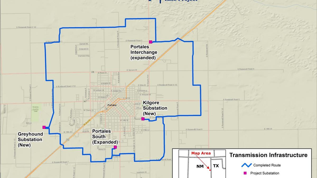 Xcel Energy Portales Power Loop Albuquerque Business First