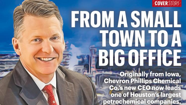 Chevron Phillips Chemical Co  CEO looks back on career, first year