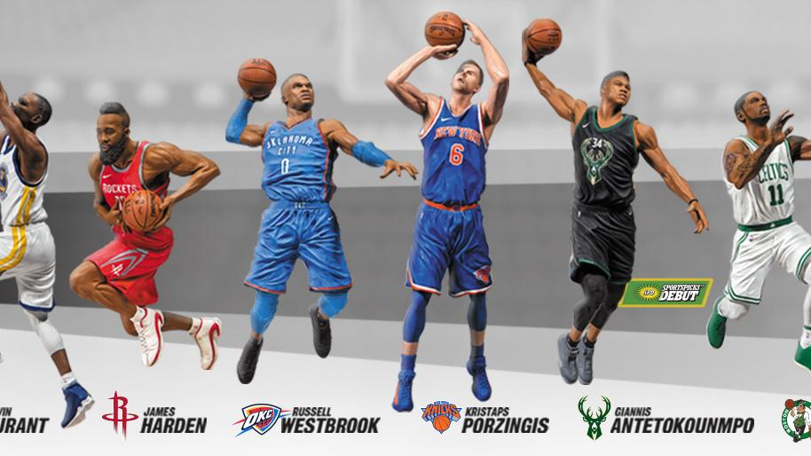 8674ba06fb89 Tempe toymaker creates NBA action figures for new video game partnership