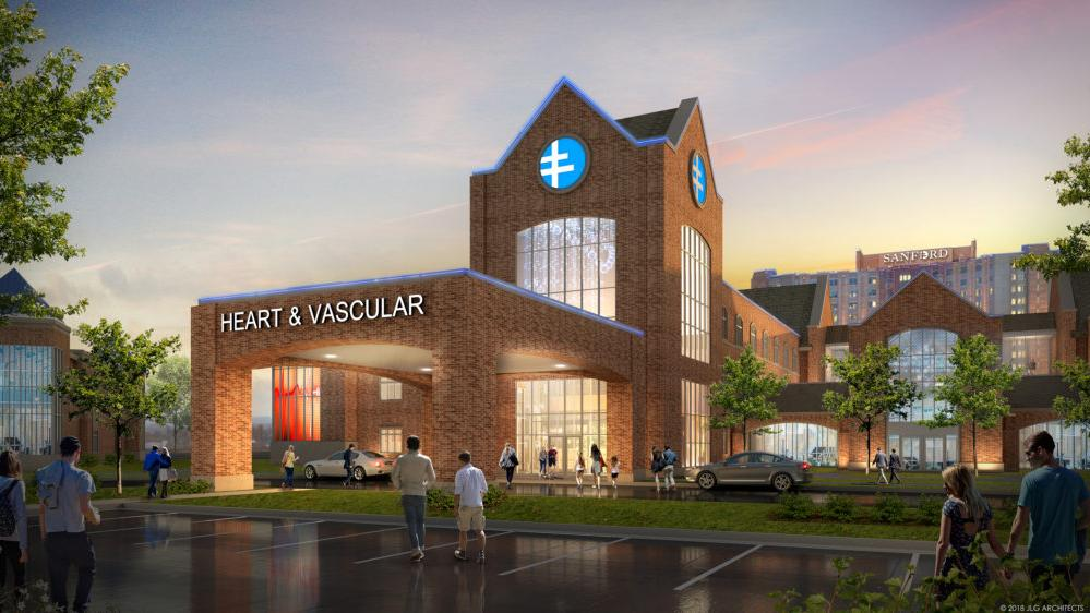 Sanford Health To Build Heart And Vascular Center In Fargo As Part