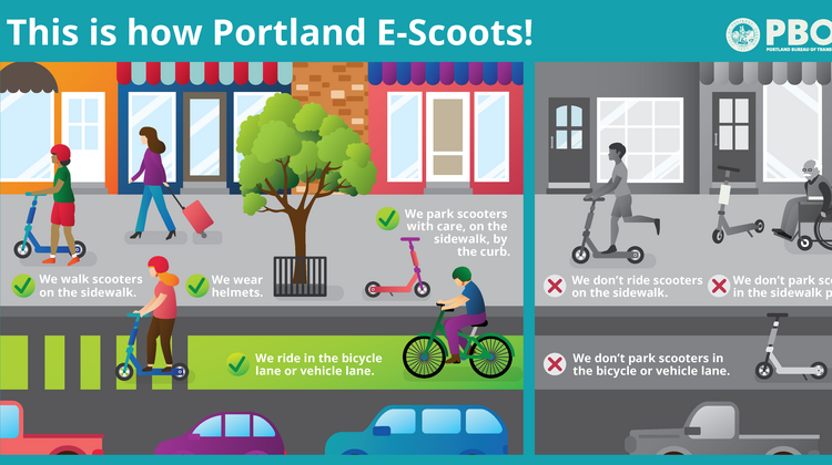 Skip, Bird get permits to deploy e-scooters in Portland