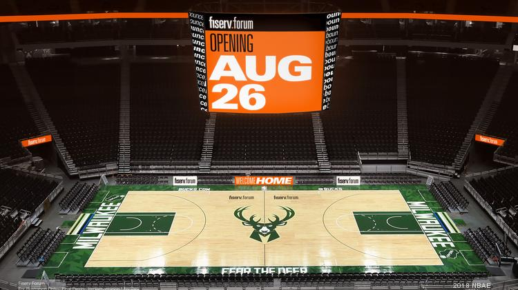 Bucks tap MPD for Fiserv Forum security - Milwaukee Business Journal