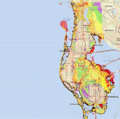 Updated Flood Map Of Pinellas County From Fema Tampa Bay Business