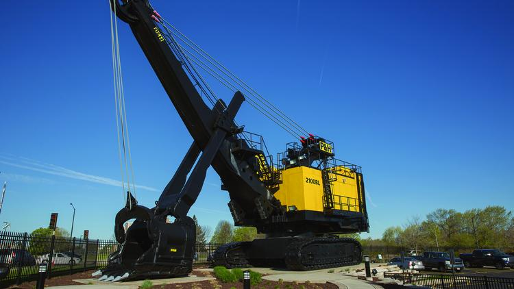 The New Mining Shovels That Komatsu Is Making In Milwaukee Will Be Twice As Tall