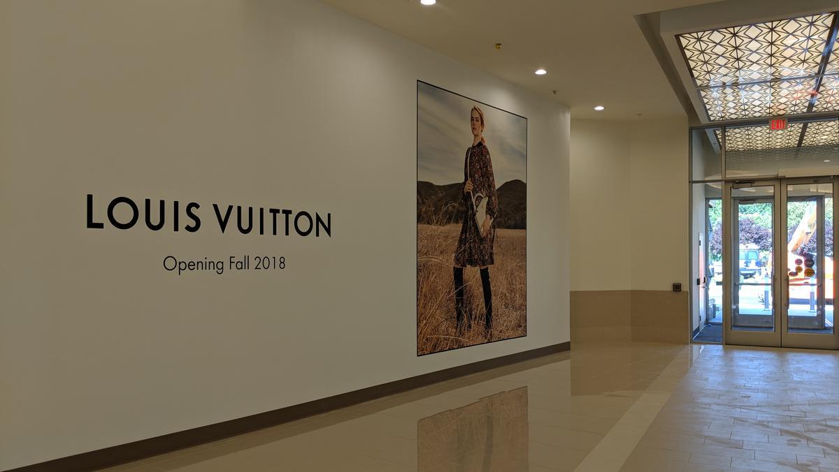 Exclusive louis vuitton opening first greater cincinnati store