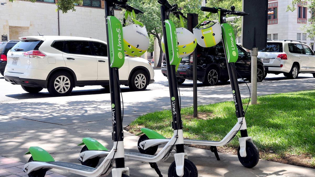 Lime eyes big expansion of San Antonio scooter fleet - San Antonio