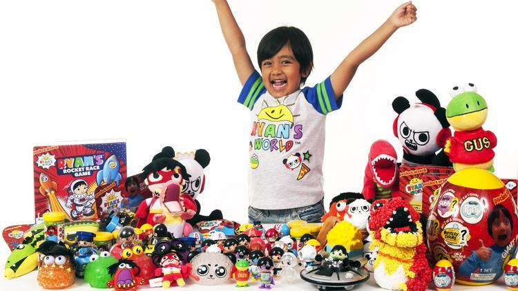 Ryan ToysReview toys and T-shirts launch at Walmart - L.A. Biz 2da63c05c