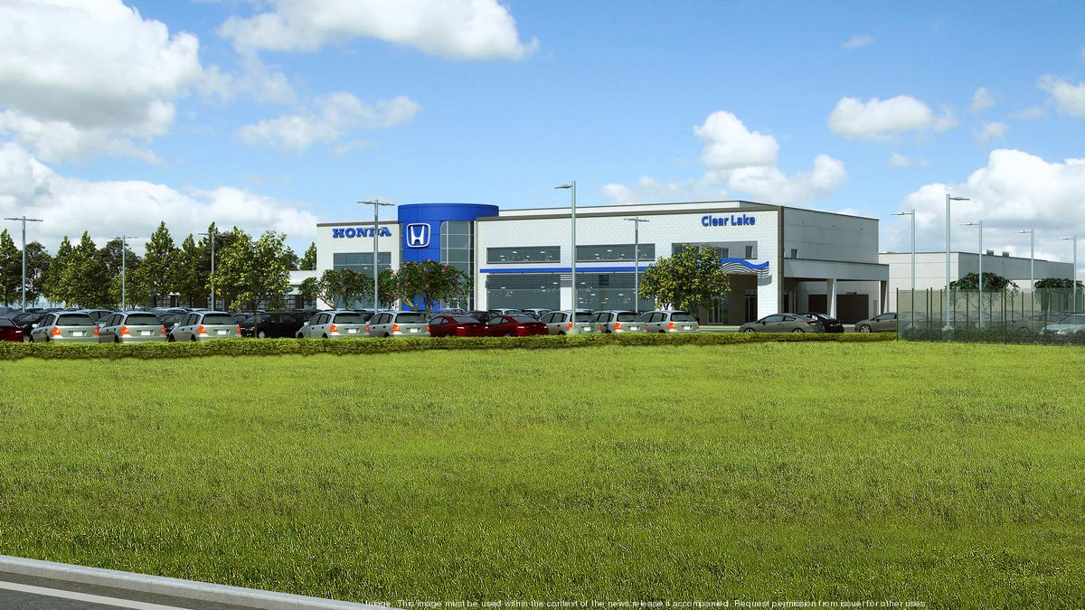 Honda Dealership Dallas >> Honda of Clear Lake to move from Webster to League City ...