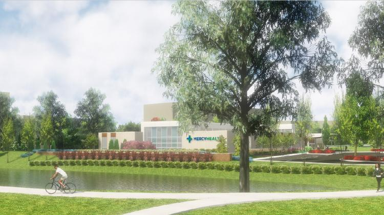 Mercy to build medical office - Cincinnati Business Courier