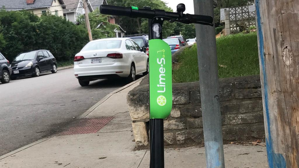 Lime scooters are the newest ride-share addition to Columbus