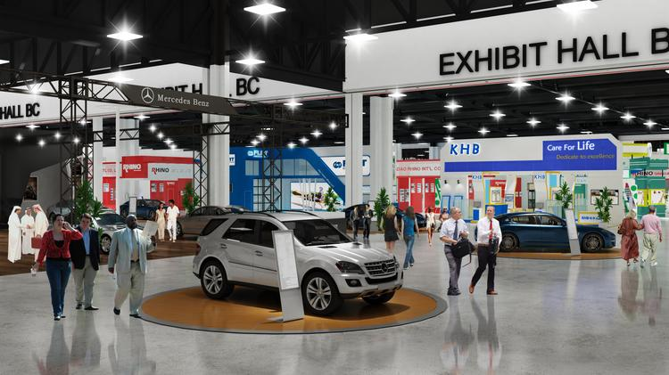 GWCC Expansion Airport Hotel Among New Atlanta Area Meeting And - Car show world congress center atlanta