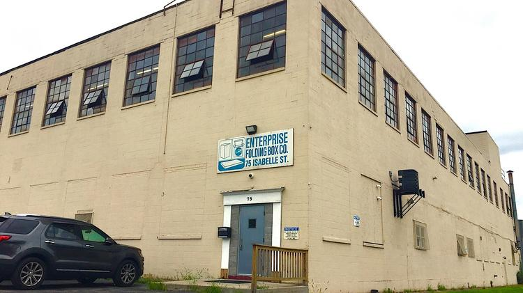 Enterprise Folding Box Co. Inc. is negotiating to acquire one acre of land  and 70b7cbdeceb