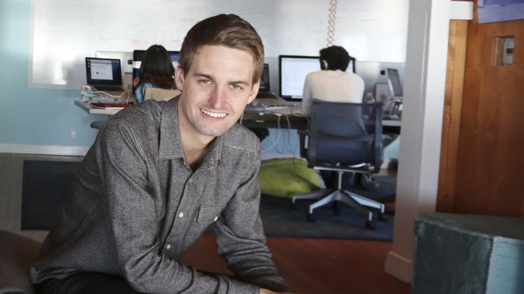 Snap CEO Evan Spiegel is Forbes' youngest billionaire - L A  Biz