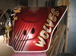 Chicago Wolves mask