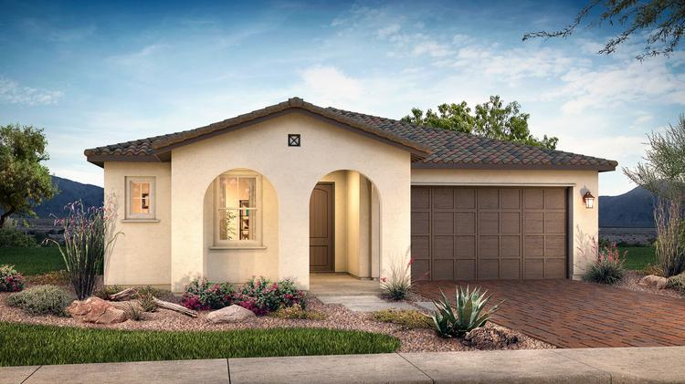 Shea Homes Is Building Homes At Gateway Quarter In Queen Creek.