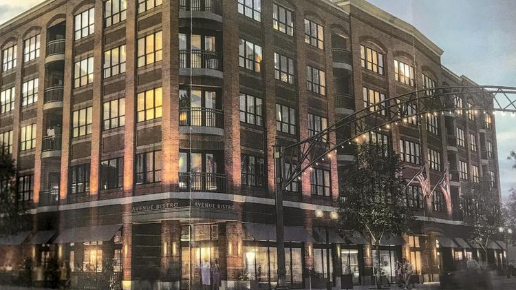 5 Story Apartment Project In The Short North Back For Review