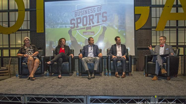 edba7491c Panelists at the Boston Business Journal s Business of Sports Power  Breakfast held at TD Garden were