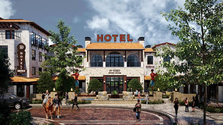 Shake Shack Hotel Drover Part Of 175m Redevelopment Of