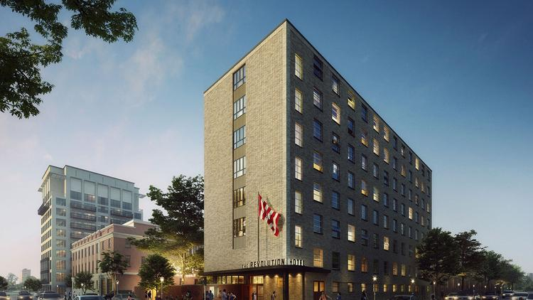 Portland S Provenance Hotels Is Partnering With The Mount Vernon Company On Revolution Hotel In Boston